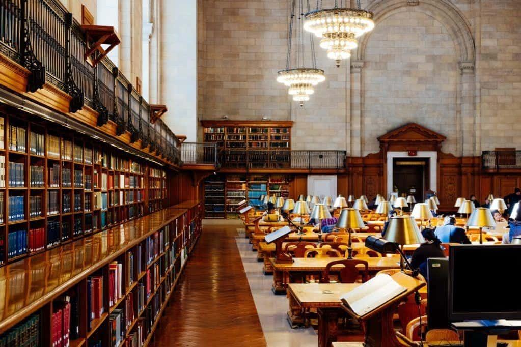 seminary library